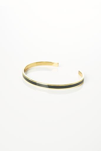 Bracelet Jonc noir BANGLE UP pour femme
