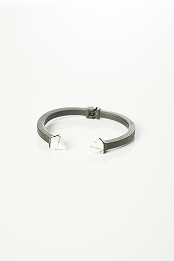 Bracelet Jonc noir SANS MARQUE pour femme