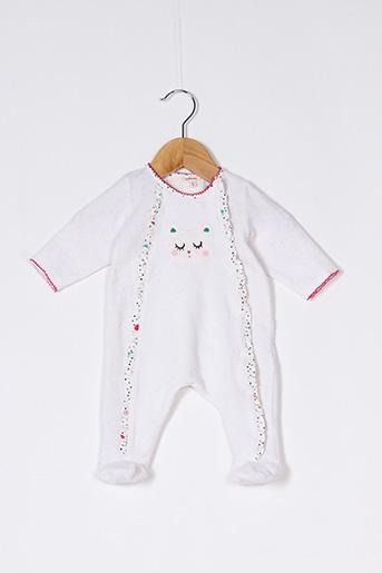 Pyjama blanc CATIMINI pour fille