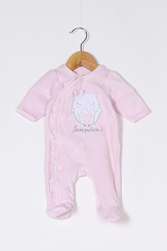 Pyjama rose GEMO pour fille