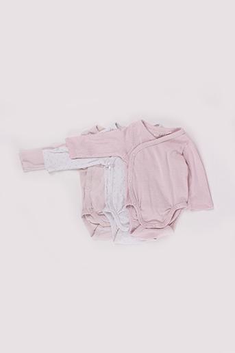 Body lingerie rose H&M pour fille
