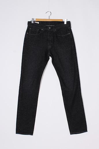 Jeans coupe slim noir LEVIS pour homme