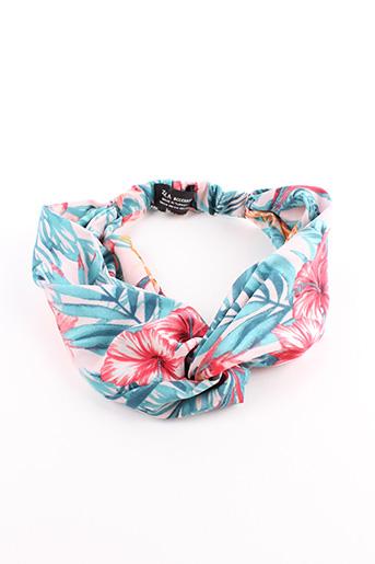 Accessoire pour cheveux bleu ZARA pour femme