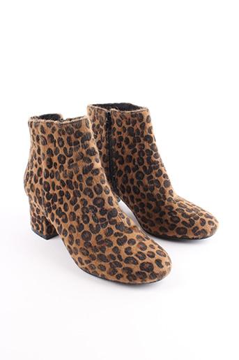 Bottines/Boots marron PIMKIE pour femme