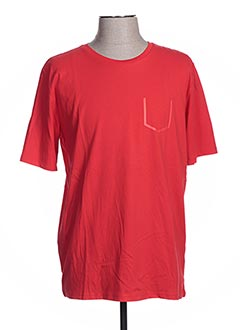 T-shirt manches courtes rouge CALAMAR pour femme