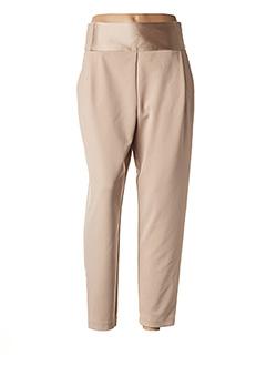 Pantalon chic beige IMPERIAL pour femme