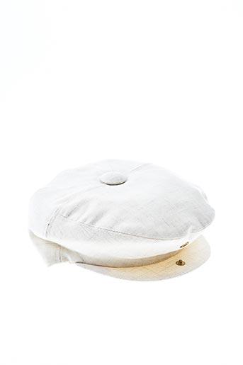 Casquette beige EURAL TERGAL pour femme