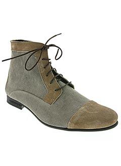 Bottines/Boots noir HEXAGONE pour homme