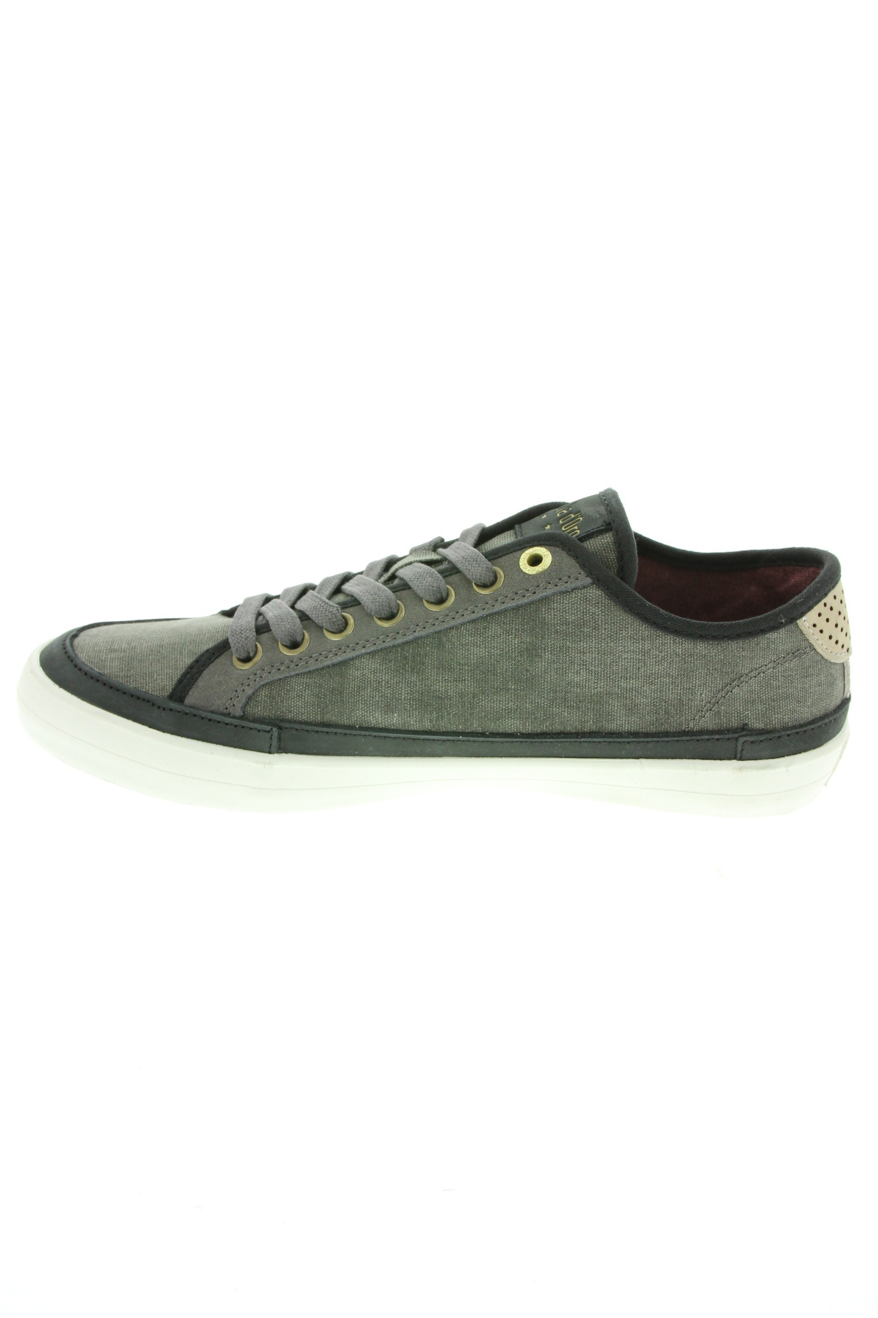 Pantofola D Oro Baskets Homme De Couleur Gris En Soldes Pas Cher 1431301-gris00
