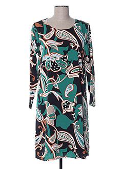 Robe courte vert COMPAÑIA FANTASTICA pour femme