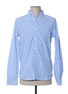 Chemise manches longues bleu GARCIA pour garçon