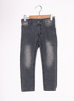 Jeans coupe slim gris 3 POMMES pour fille