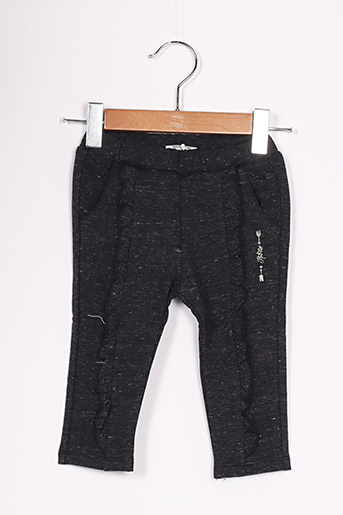 Pantalon casual gris IKKS pour fille