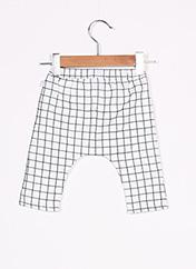 Pantalon casual blanc ABSORBA pour fille seconde vue