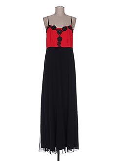 Robe longue rouge BODY FLIRT pour femme