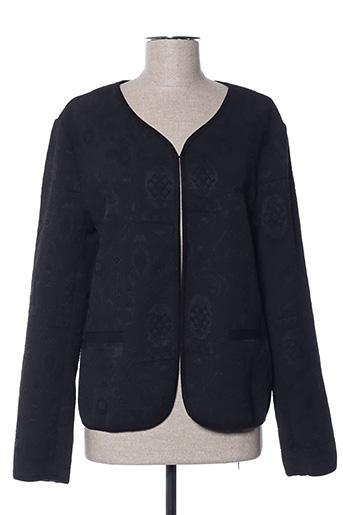 Veste casual noir AGATHE VELMONT pour femme