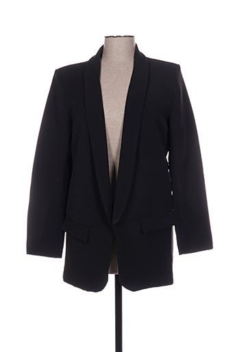 Veste chic / Blazer noir ADILYNN pour femme