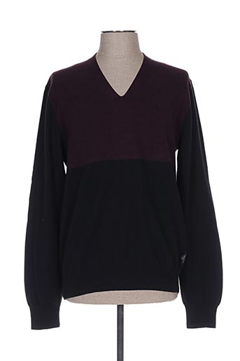 Pull col V rouge PAUL SMITH pour homme