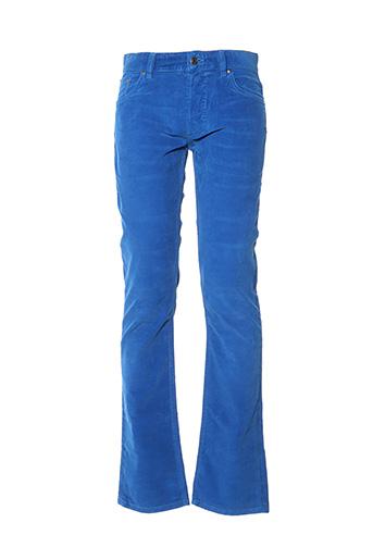 Pantalon casual bleu HUGO MANUEL pour homme