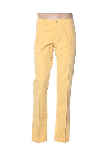 Pantalon casual jaune HARTFORD pour homme