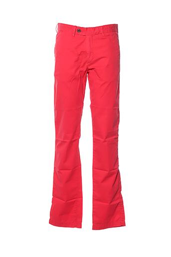 Pantalon casual rouge HARTFORD pour homme