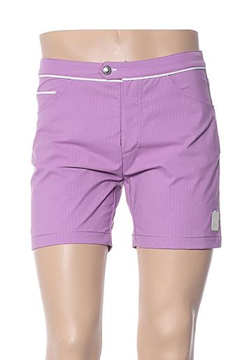 Short violet MACKEENE pour homme