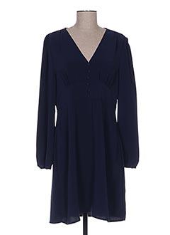 Robe courte bleu BEST MOUNTAIN pour femme