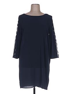 Robe mi-longue bleu BEST MOUNTAIN pour femme