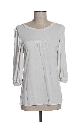 T-shirt manches longues gris DDP pour femme