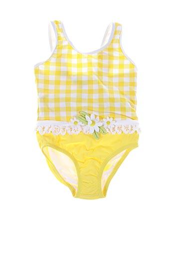 Maillot de bain 1 pièce jaune MAYORAL pour fille