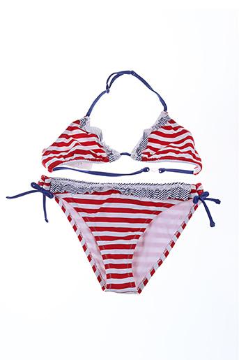 Maillot de bain 2 pièces rouge MAYORAL pour fille