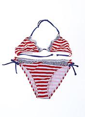 Maillot de bain 2 pièces rouge MAYORAL pour fille seconde vue