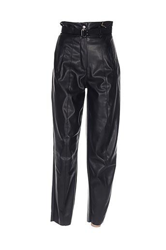 Pantalon casual noir DIXIE pour femme