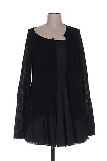 Robe courte noir BLACK LABEL pour femme