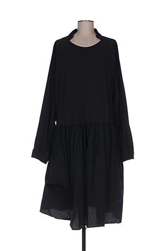 Robe mi-longue noir BLACK LABEL pour femme