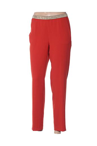 Pantalon casual orange HARTFORD pour femme