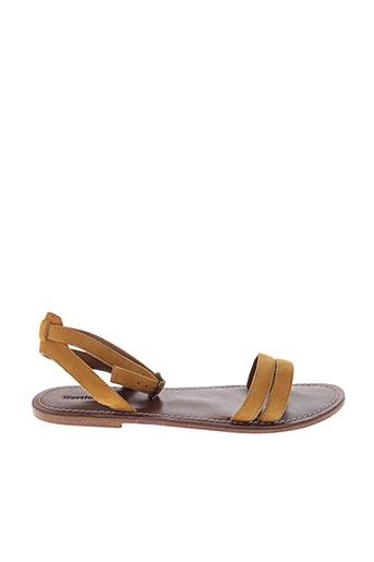 Sandales/Nu pieds jaune HARTFORD pour femme
