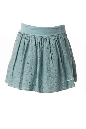Jupe mi-longue bleu PETIT BATEAU pour fille