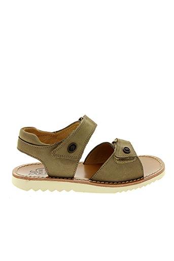 Sandales/Nu pieds beige POM D'API pour fille