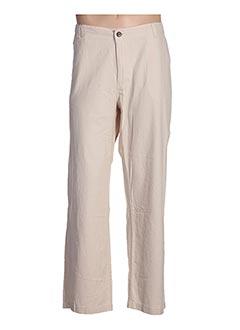 Pantalon casual beige ESPRIT DE LA MER pour femme
