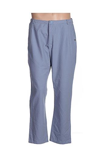 Pantalon casual bleu GOUBI pour femme