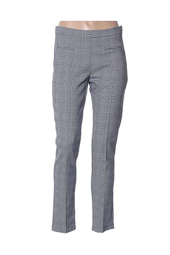 Pantalon casual gris HIPPOCAMPE pour femme