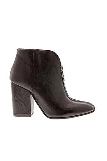 Bottines/Boots noir CURIOSITÈ pour femme