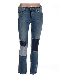 Jeans coupe slim bleu LEE pour femme