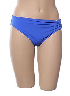 Bas de maillot de bain bleu BELCOR pour femme