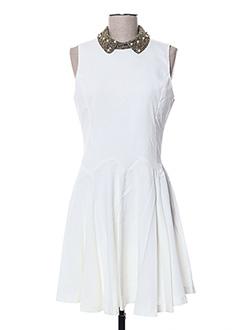 Robe mi-longue beige ANGELEYE pour femme