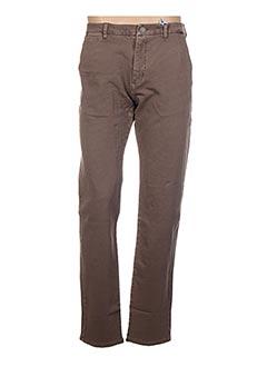 Pantalon casual marron MEN OF ALL NATION pour homme