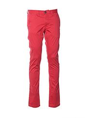 Pantalon casual rouge TEDDY SMITH pour homme seconde vue