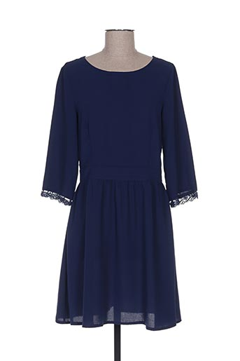 Robe courte bleu CONTEMPLAY pour femme