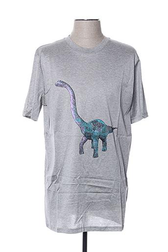 T-shirt manches courtes gris LANVIN pour homme